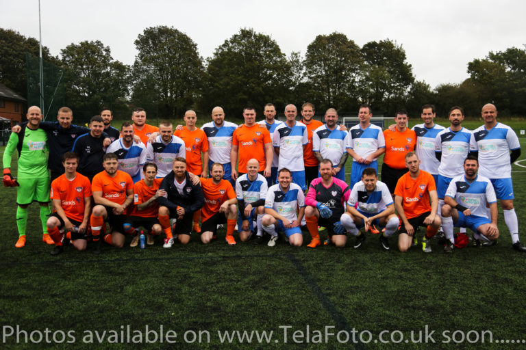 Nine4Norah teams celebration day football match